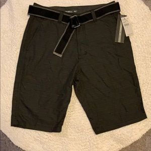 O'Neill Shorts NWT with Belt. Size 28